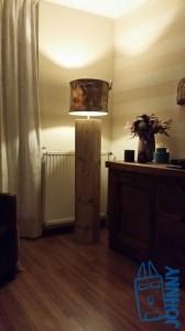 Lamp steigerhout