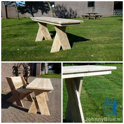 Eettafel Cross | JohnnyBlue