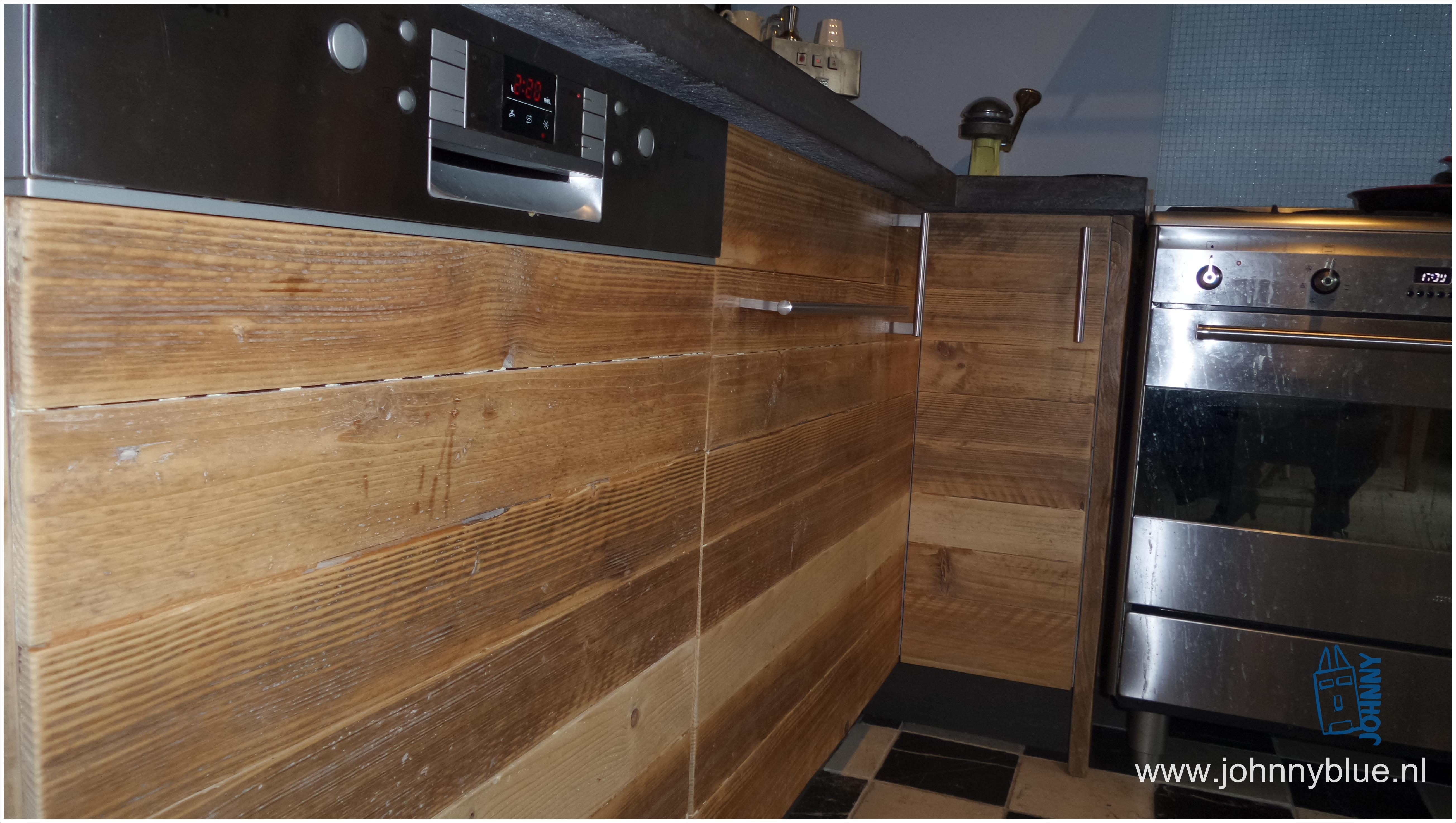 Moderne keuken plank keukenplank keukenstudio maassluis