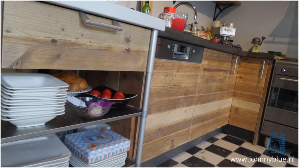 Keuken LIJS steigerhout