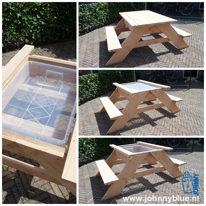 Picknicktafel - speeltafel MEES | JohnnyBlue