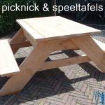 Picknick en speeltafel JohnnyBlue