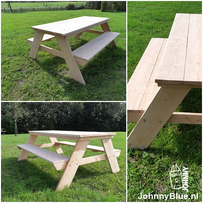 Picknicktafel Sam | JohnnyBlue.nl