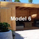 Tuinhuis model 6 | JohnnyBlue