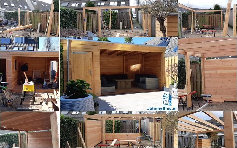 De bouw van een tuinhuis op maat | JohnnyBlue